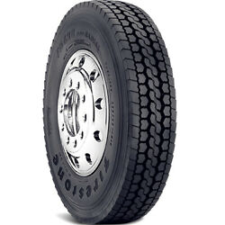 4 Tires Firestone Fd690 Plus 295/75r22.5 Load G 14 Ply Drive Commercial