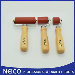 3pcs Roofing Membrane Installing Set Tools , Silicone Roller ,seam Rollers Set