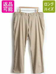 Polo Pockets Stretch Slacks Underpants Mens 38 32 Thrift Tapered
