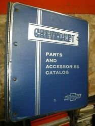 1976-81 Chevy Passenger Car Factory Parts Text Only Catalog Manual W/ Binder