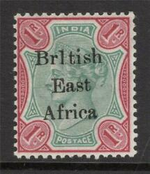 Br. East Africa 1895-6 Sg 60b Variety Mounted Mint+gum Excellent Quality