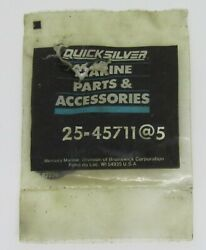 New Quicksilver Marine Boat Valve Cover O-ring Lot Of 4 Part No. 25-45711