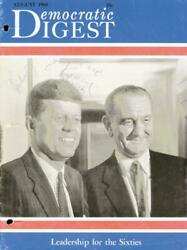 John F. Kennedy - Magazine Cover Signed Co-signed By Eunice Kennedy Shriver