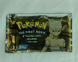 Pokemon The First Movie Trading Cards Pack - Topps