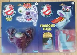 The Real Ghostbusters Bug-eye Ghost And Fearsome Flush Hasbro 2021 Newest In Hand