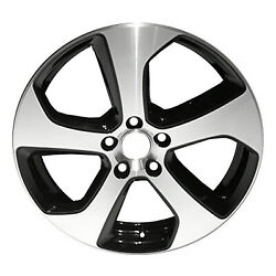 Oem Remanufactured 18 X 7.5 Alloy Wheel Machined And Black-69980