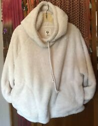 Billabong Logo Double-sided Fleece Pullover Hoodie Menand039s Medium Warm And Cozy Euc