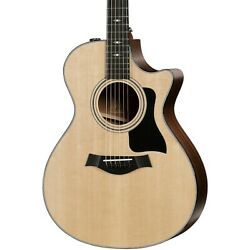 Taylor 312ce V-class Grand Concert Acoustic-electric Guitar Natural
