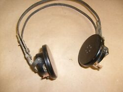 Us Army Signal Corps R-14 Receivers For Flight Or Tanker Helmets