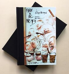 Hunter S. Thompson Fire In The Nuts Steadman Signed Lt Ed - Publishers Ap Copy