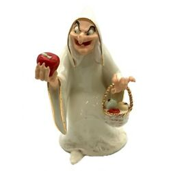 Disney Figurine Lenox Snow White / The Queen Transformed Into Witch From Japan