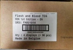 Flesh And Blood Monarch 1st Edition Booster Case Contains 4x Booster Boxes