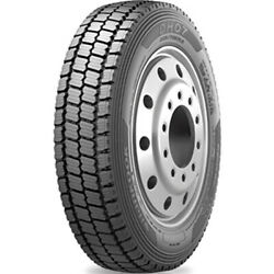 4 Tires Hankook Dh07 245/70r19.5 Load H 16 Ply Drive Commercial