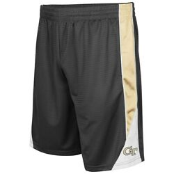 Georgia Tech Yellow Jackets Colosseum Turnover Shorts - Charcoal