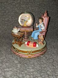 Belle Vintage Snowglobe Beauty And The Beast