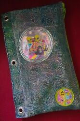 Vintage Lisa Frank Alien Zoomer And Zorbit Pencil Pouch