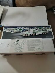 2006 Hess Toy Truck And Helicopter Holiday Set Battery Operated