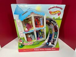 Vintage Mcdonald's Happy Meal Barbie And Hot Wheels Store Display