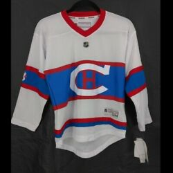 Nhl Montreal Canadiens Replica Jersey Youth S M Hockey Reebok Winter Classic New