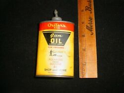 Vintage Outers 445 Lead Top Gun Oil Can 3 Oz.
