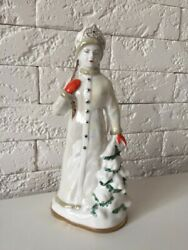The Porcelain Statuette Of The Ussr Snow Maiden Haita Is A Rarity