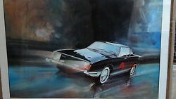 Raimond Loewy Avanti Studebaker Signed And Numbered Print,1975,13/250 W/the Book