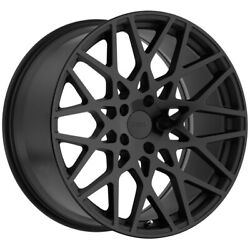 Staggered Tsw Vale Front 20x8.5 Rear 20x10 5x120 Double Black Wheels Rims