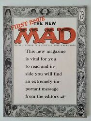 Mad Magazine 24  July 1955 1st Mag Issue 1st What Me Worry