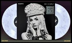 Poppy Am I A Girl 2xlp On Grey Marble Vinyl Sealed New With Poster