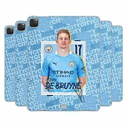 Manchester City Man City Fc 2020/21 First Team Gel Case For Apple Samsung Kindle