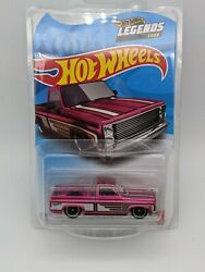 2021 Hot Wheels Legends Tour And03983 Chevy Silverado Spectraflame Pink