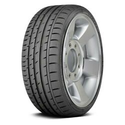 Continental Set Of 4 Tires 285/35r18 Y Contisportcontact 3 Summer / Performance