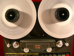 Teac Tascam 32-2b Reel To Reeltape Deck Recorder Serviced And30 Day Guarantee