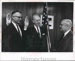 1963 Press Photo Milwaukee Officers David Howe Russell Leitch And Roy Morgan