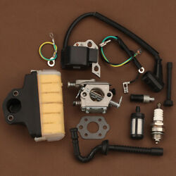 Carburetor Carb Air Filter Kit Fits Stihl Ms210 Ms230 Ms250 021 023 025 Chainsaw