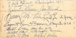 Curtis E. Lemay - Autograph With Co-signers