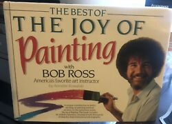 Bob Ross Signed The Best Of The Joy Of Painting Psa Certified Authentic