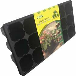 Jiffy 72-cell Seed Starter Greenhouse Seed Start Kit Refill Pack Of 22 Tr72