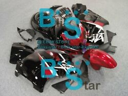 Red Black Gsxr1300 Fairing With Tank Seat Fit Gsx-r1300 98 99 97-07 48 A4