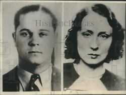 1939 Press Photo Joseph Cretzer And Wife Edna Mae Escaped After Shooting Police