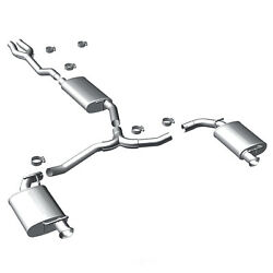 Exhaust Muffler Kit-street Series Stainless Cat-back System Fits 11-15 Charger