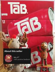 Lot Of 4 Tab®️ Cola 12-pack Soda 12 Fl Oz ❄️ Oct '21 Exp Factory Sealed Cases
