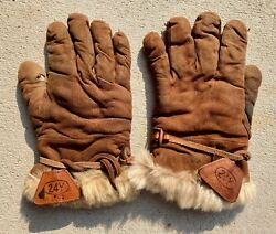 Original Wwii Japanese Cold Weather Gloves - From Hump Pilot