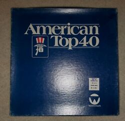 American Top 40 4 Lp - 8-1-81 With Cue Sheets 40 Years Ago