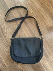 Thirty one Studio Classic Black Crossbody Bag With Removeable Flap $31.98