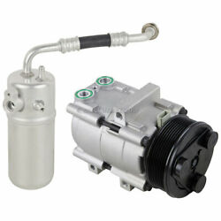 For Ford Expedition And Lincoln Navigator Blackwood Ac Compressor W/ A/c Drier