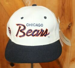 Chicago Bears Vintage Sports Specialties Youngan Script Snapback Hat New