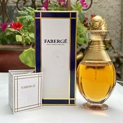 Discontinued Vintage Faberge Imperial Perfume Edp Spray 50ml 1.7oz New In Box