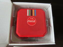 Coca Cola Campaign Winning Products Waterproof Speakers Red Tokyo Olympics 2020