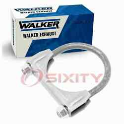 Walker Int Pipe To Muffler Exhaust Clamp For 1975-1976 Oldsmobile Cutlass Rl